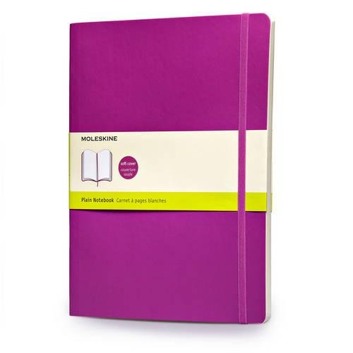 Moleskine Soft Extra Large Orchid Purple Plain Notebook - creative writing course