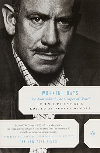 Working Days: The Journals of 'the Grapes of Wrath': 1938-1941 - creative writing course
