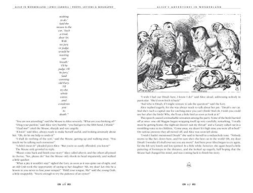 Alice's Adventures in Wonderland: Unabridged, with Poems, Letters & Biography - creative writing course