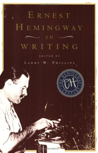 Ernest Hemingway on Writing - creative writing course