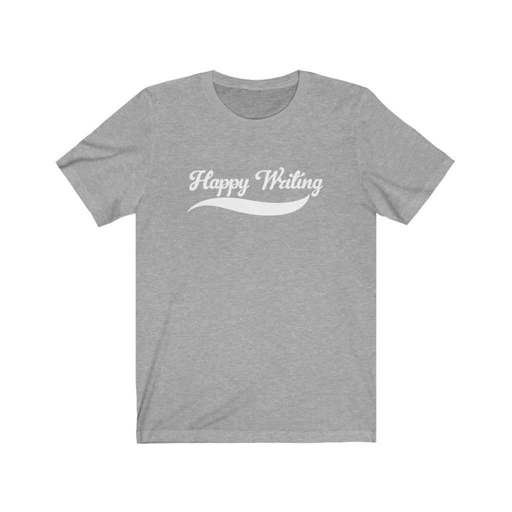 Happy Writing Crew Neck T-Shirt