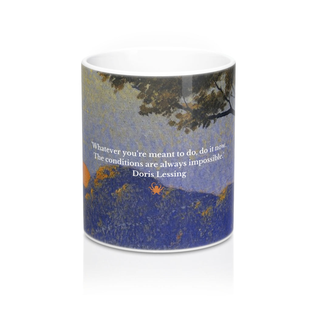 The Doris Lessing Mug - creative writing course