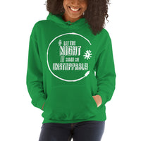 Let the Night... Hoodie (Grungy, Unisex, 8 colours)
