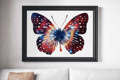 Butterfly Painting Poster Art Print Canvas - THANKSNET