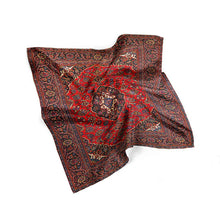 Persian Carpet Silk Scarf Bandana Scarf Women - THANKSNET