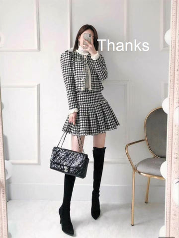 #Thanks #Jacket #skirt