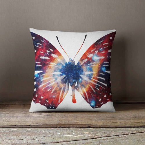 Butterfly Space Galaxy Cosmic Pillowcase - THANKSNET