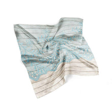 Wood Lace Women Neck Tie Silk Scarf Bandana Scarf - THANKSNET