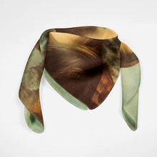 Mona Lisa Women Neck Tie Silk Scarf Leonardo Da - THANKSNET