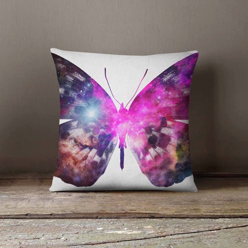 Cosmic Butterfly Universe Space Galaxy Pillowcase - THANKSNET