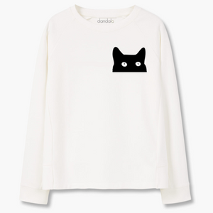 "Sweatshirt ""Cat"" - THANKSNET"