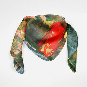 Paul Gauguin Silk Scarf Impressionist Art Painting - THANKSNET