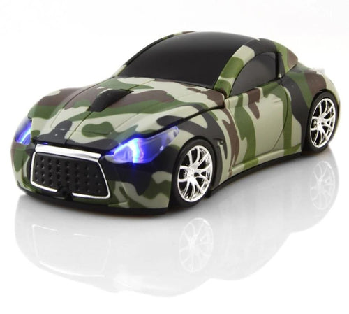 3D Wireless Mouse Car - THANKSNET