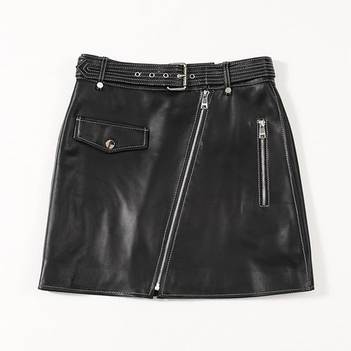 Genuine Leather 2020 skirt - THANKSNET