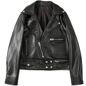 Genuine Leather 2020 sheepskin jacket - THANKSNET