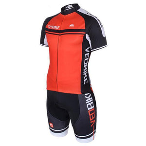 Bicycle Clothing Ropa Ciclismo Short Sleeve Gel Pad Bib/Shorts Sport - THANKSNET