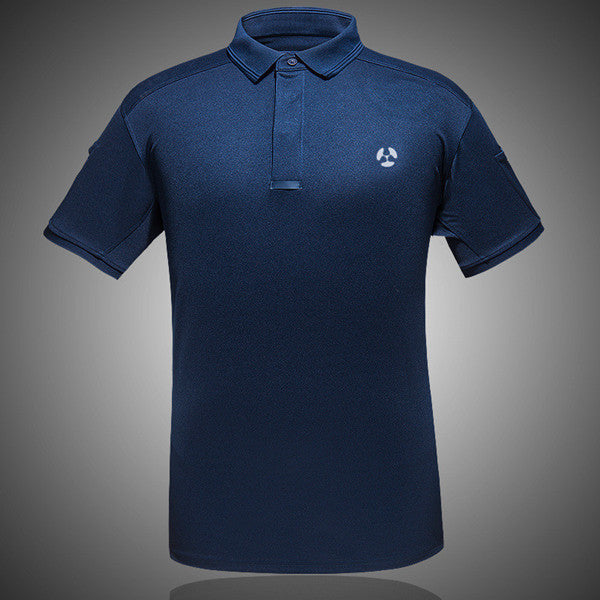 Summer Coolmax Breathable Fabric Polo Shirt Casual Men Homme Camisa Masculino - THANKSNET