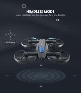 Foldable Selfie Drone Quadcopter with HD Camera WiFi APP Control FPV RC - THANKSNET