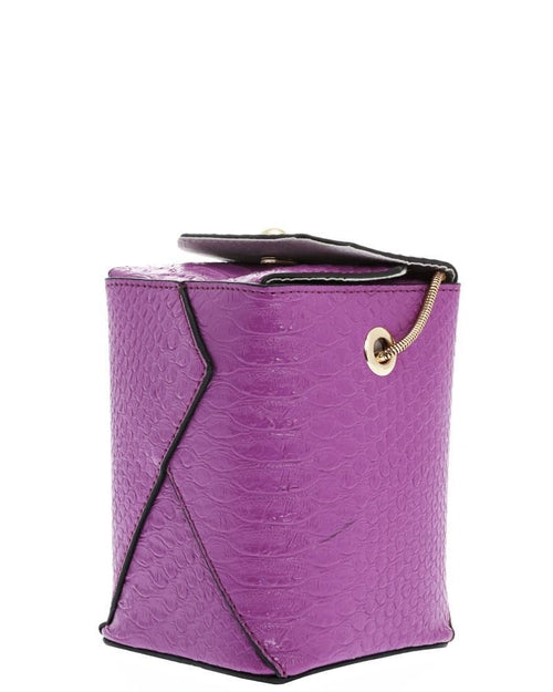 Small Purple Box Handbag - THANKSNET