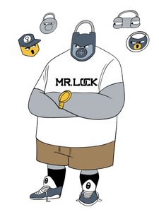 "Mr. Lock ""Big Lock"" Tee"