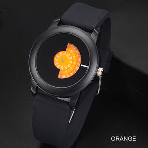 Extremely simple quartz watch