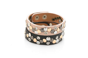 Delicate Leather Bangles