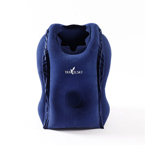 Folding Air Inflatable Travel Pillow