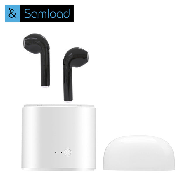 Samload Bluetooth Headset Air Earphones Sport Charging Box