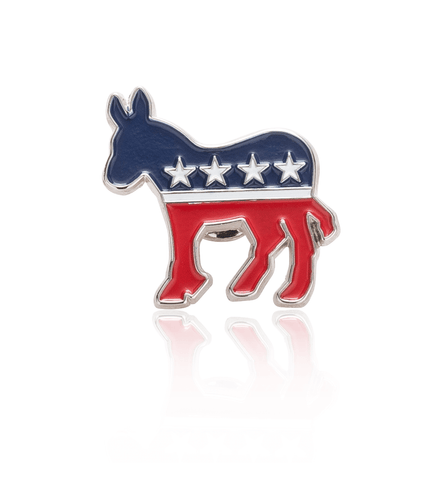 Democratic Donkey Lapel Pin