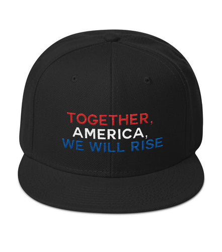 Black We Will Rise Snapback Hat