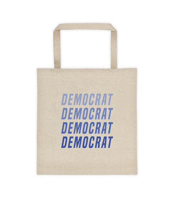 Ombré Democrat Tote bag