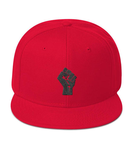 Red/Black Resist Snapback