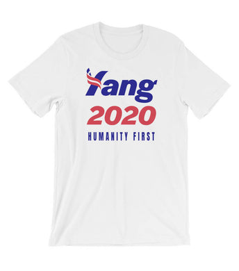Andrew Yang Humanity First Unisex T-Shirt