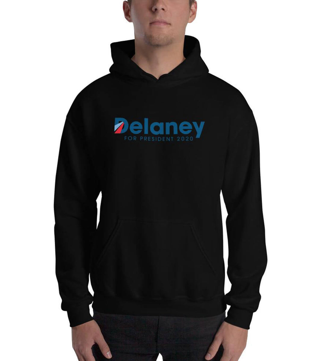 Delaney for President 2020 Hooded Sweatshirt