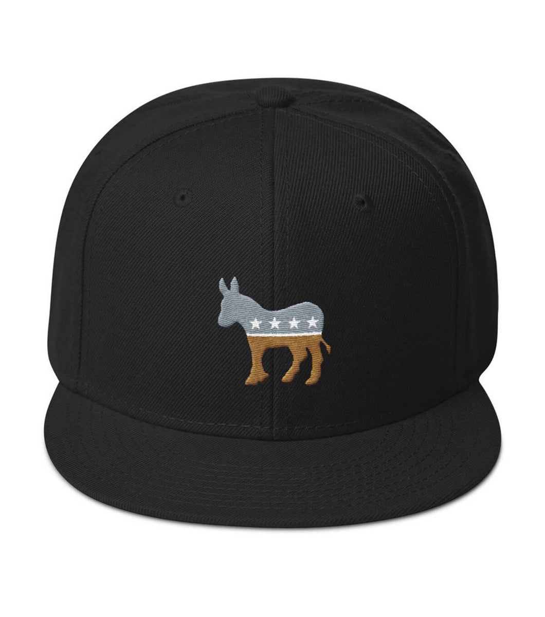 Silver/Gold Democratic Snapback