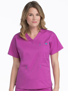 8403 V-NECKLINE SIGNATURE 3 POCKET TOP (3XL)