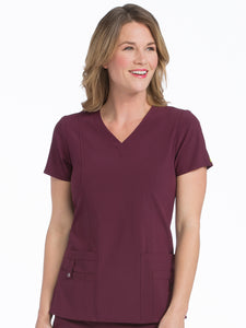 8408 V-NECK IN-MOTION CLASSIC TOP( XL, 2XL, 3XL)