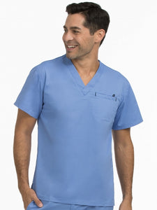 8486 MEN'S MEN'S V-NECKLINE 1 POCKET TOP
