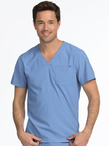 STYLE 8530 SPORT MEN'S V-NECKLINE 1 POCKET TOP