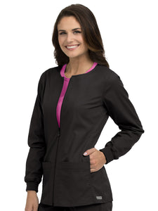 8687 IN-SEAM POCKET ZIP FRONT WARM UP