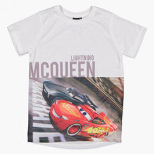 Cars Printed Short Sleeves T-Shirt