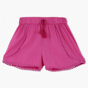 Juniors Detailed Hem Shorts