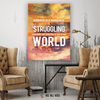 Image of Home Decor Wall Art: Kindness To A Struggling Soul