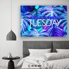Image of Home Decor Wall Art: Live Every Day Like It's Taco Tuesday