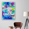Image of Home Decor Wall Art: The Stronger Your Storm The Brighter Your Rainbow