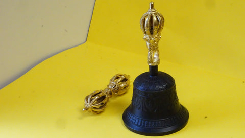 Small Ghanta and Vajra (Bell and Dorje)