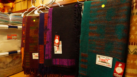 Large Heavy Weight Himalayan Woolen Shawls.