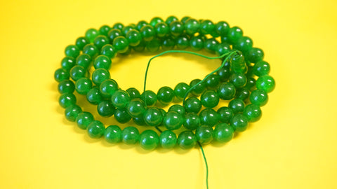 Large Green Assorted Lapis Mala.