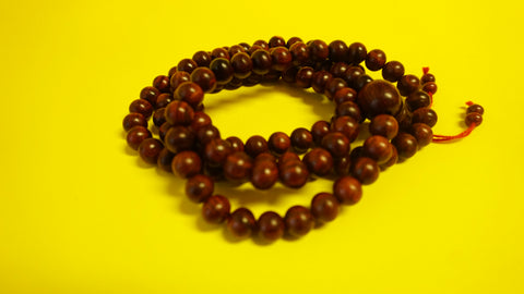 Medium Red Sandlewood Mala Beads