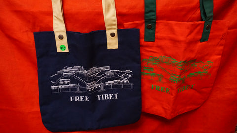 Save Tibet Canvas Tote